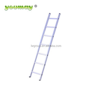 EN131 Aluminum straight lader/super ladder aluminum stairs/ladders for bes tocastle,AS0107A, 7 steps