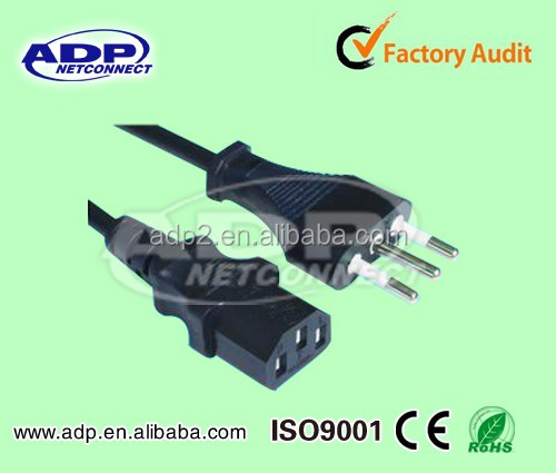 Shenzhen Factory Price ADP Salt Lamp Power Cord with Cable for Home Appliance