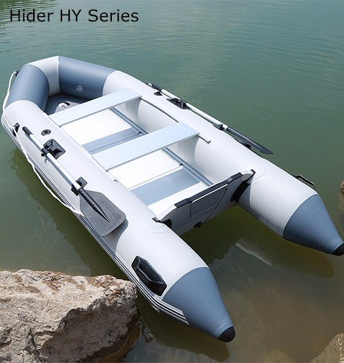 Large Military Inflatable <strong>Boat</strong> With Outboard Motor