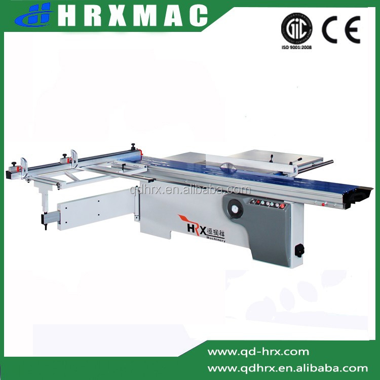 China good quality woodworking machinery/best price sliding table panel saw