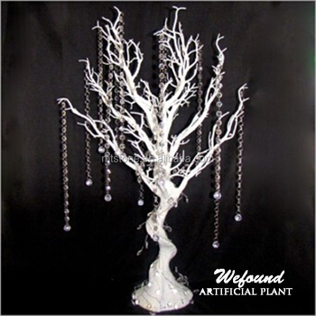 White Manzanita Tree Centerpieces For Table Decoration