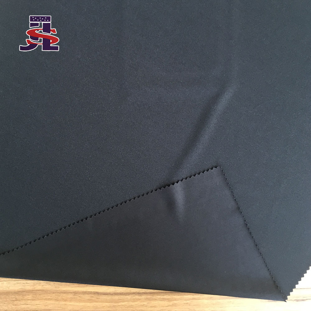 Best Choose Cheap Curtain Polyester Knitted Fabric Black