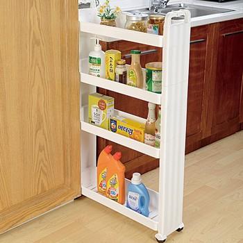 Kitchen Slide Out Storage Tower Corner Shelf
