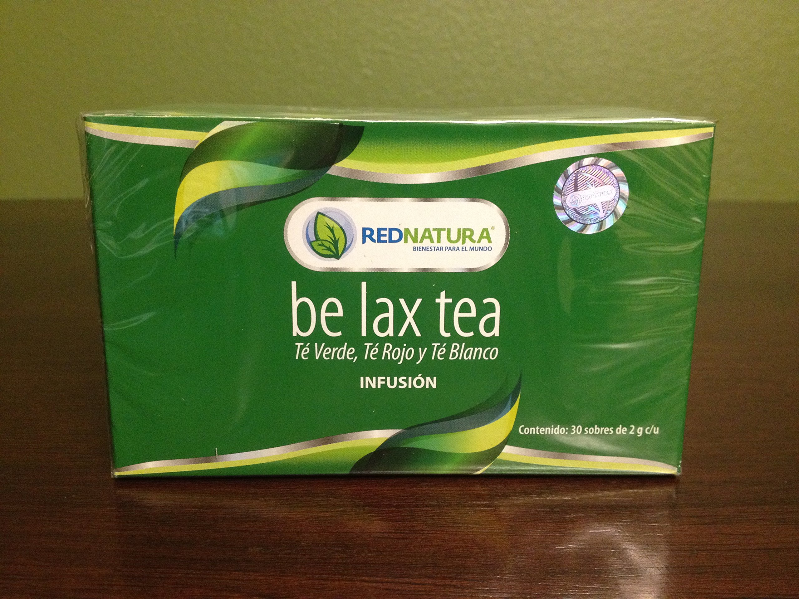 Be Lax Tea Weight Loss Supplement - Red Natura Mexican Version - 30 Day Supply