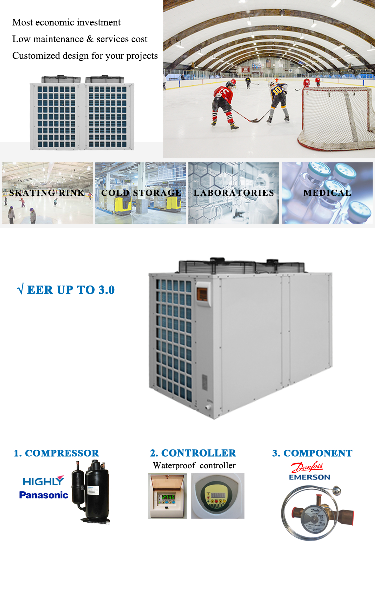 Ultra low temperature chiller operation well