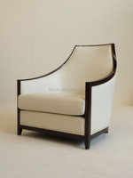 Modern deluxe European style lounge chair for hotel and restaurant(FOH-AA01)