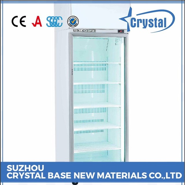 strict time control supplier decorative glass door mini fridge