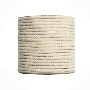 Hot Sale 18mm Natural 3 Strand Cotton Rope For Sale