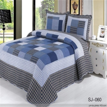 Blue Wholesale 100 Cotton Printed Design Your Own Bed Sheet View