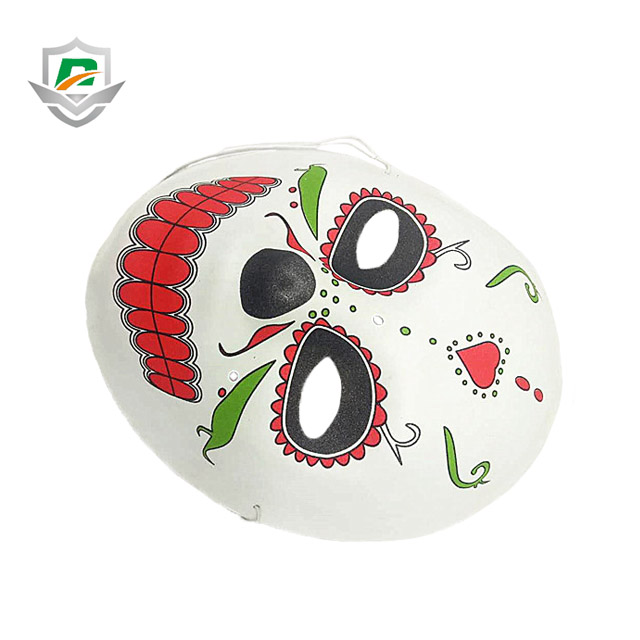 2018 new arrival custom kids foam masquerade painted funny face eva halloween drama party mask