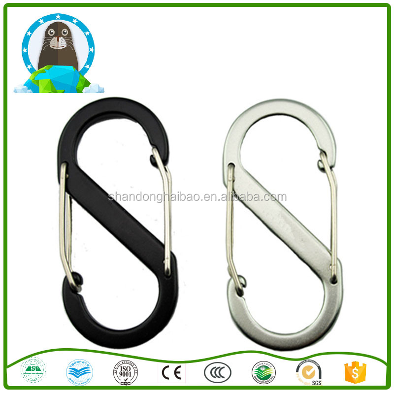 S-type mountaineering buckle aluminum outdoor camping <strong>hook</strong>