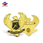 Wing Pin Designer Pins Longzhiyu 14 Year Manufacturer High Quality Custom 2D Metal Wing Lapel Pin With Butterfly Clutch Gold Plated Badge Best Producer