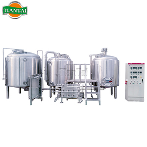 Stainless Steel / Copper 1000l Conical Beer Fermenter Tank Brewery System