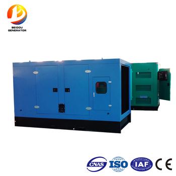 1500rpm 48 Volt 160kw Low Sd Dynamo Soundproof Sel Generator