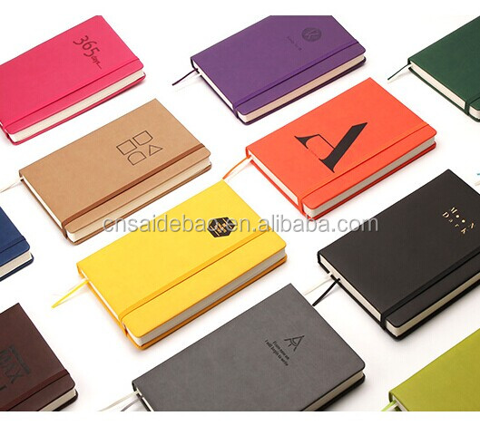 Factory Direct Sale Wholesale Leather Notebook Customize Design Note Book A5 Colorful Notebook