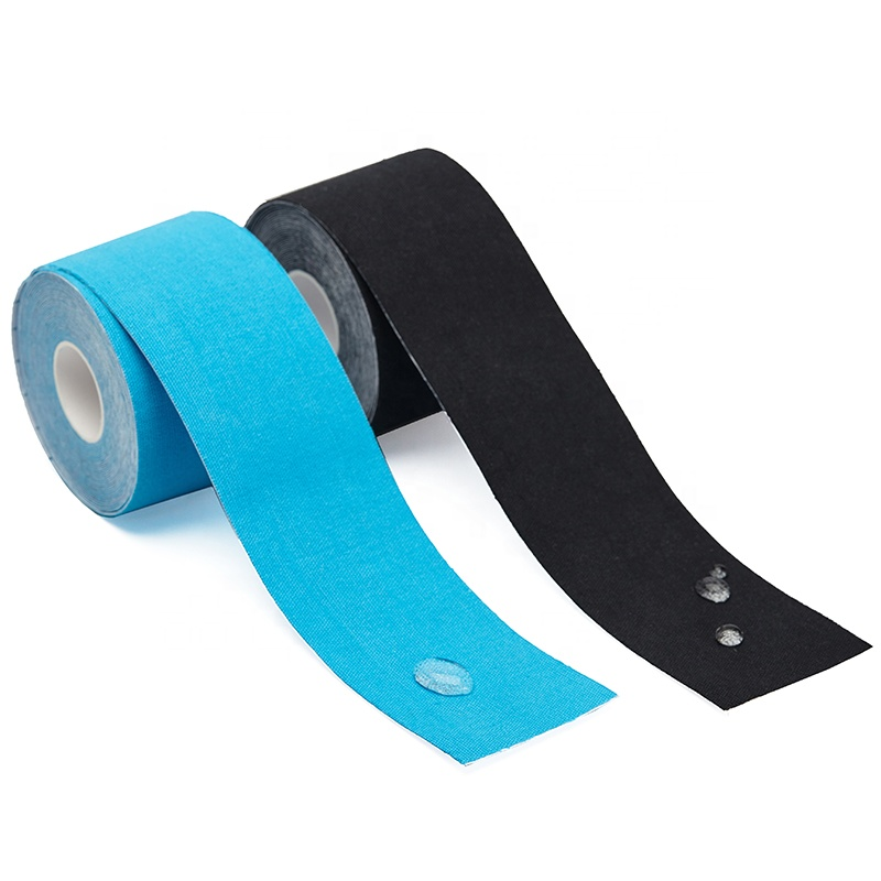 95%Cotton +5% polyester waterproof and sweatproof durable viscosity non-degumming back isolation paper kinesiology tape