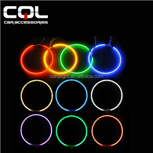 CCFL color tube devill Eyes ring/headlight red devil eye halo ring/CCFL double angel eyes