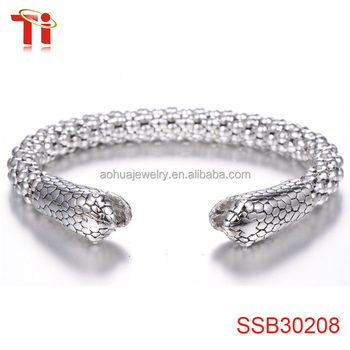 bangles bracelet bangle titanium stainless jewelry product hollow wholesale indian out steel sheep