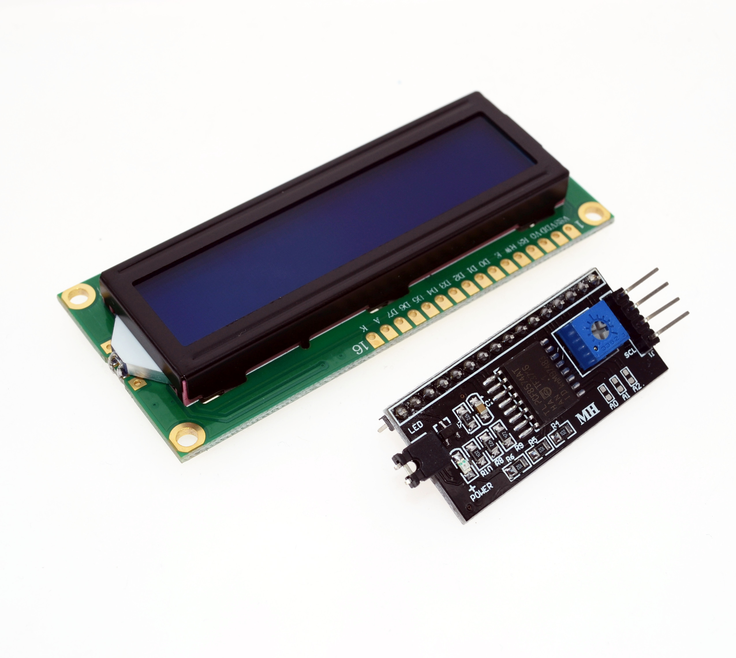 Detail Feedback Questions about IIC/I2C / Interface LCD1602 2004 LCD