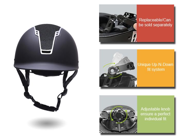 2019-newest-Sparkle-elegant-horse-riding-helmet