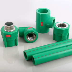 High Quality China Plumbing Materials Plastic Tube Water Supply PPR Pipe