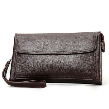 Genuine Leather Handbags For Men Casual Hand Bag Purse Wallet Clutch Online Ping