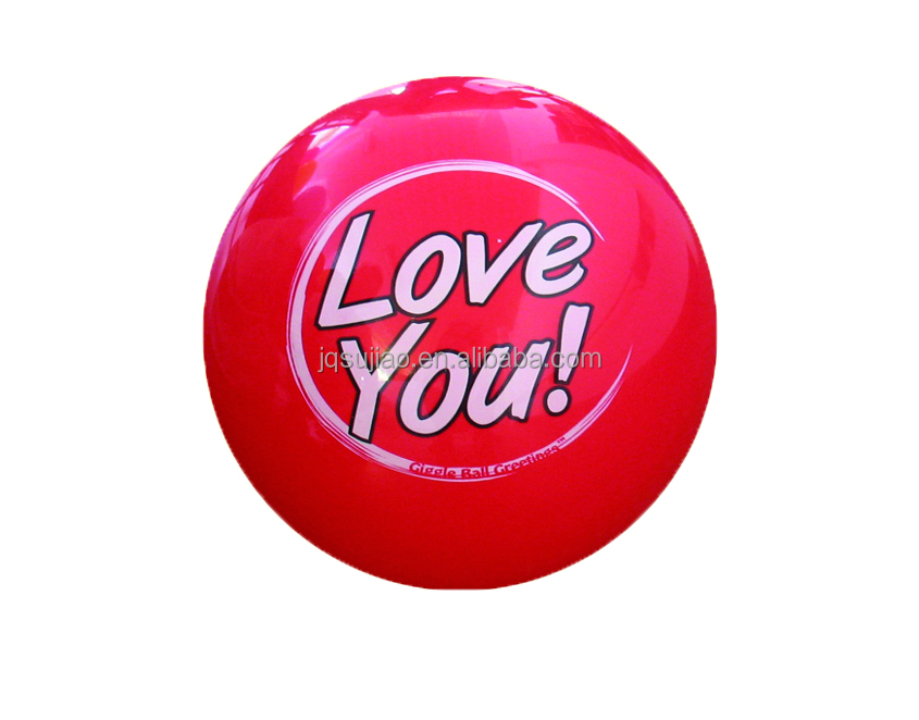 Inflatable decal ball,Imprint LOGO toys ball,Anti-burst toy ball