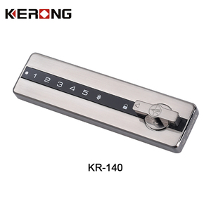Biometric zinc alloy electronic digital lock for drawer