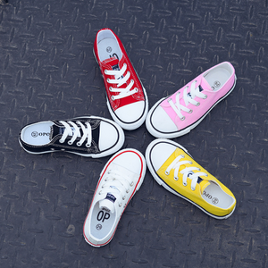 YY10011S 2018 China customized new kids casual canvas shoes wholesale