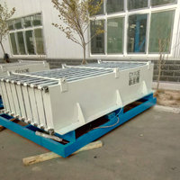 Automatic lightweight mgo hollow core wall panel for house production line