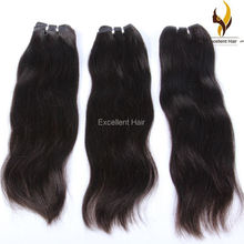 Various length 14 16 28 30 inch human hair weave extension silky straight indian remi hair