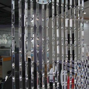 Crystal bead curtain finished goods factory spot wholesale hotel bar bedroom partition hanging European curtain