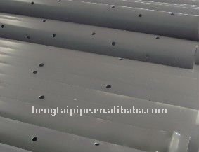 Pvc Perforated Pipe For Drain Buy Pvc Perforated Pipe