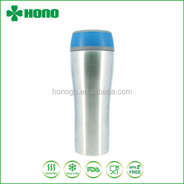 400ml Stainless Steel Thermos Coffee To Go Cup/ Tumbler Mug