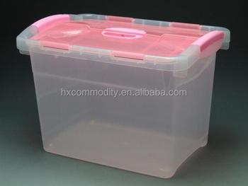 Household double open keyway plastic sundry storage container box & Household Double Open Keyway Plastic Sundry Storage Container Box ...