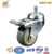 "High Performance 3"" 360 Degree TPR Single Ball Bearing Trolley Wheels With Top Plate ,75x32mm Wheel size"
