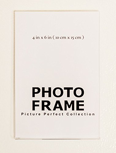 4x6 Clear Acrylic Picture Frame magnet; Magnetic Acrylic Photo Frames (5)