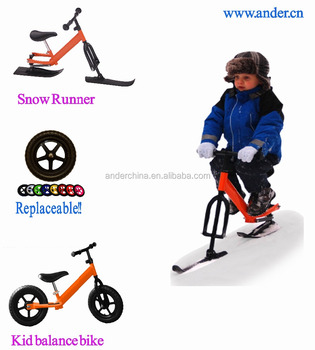 2018 Ander New Children Girl Boy Plastic Sled Snow Glider For Winter Snow  Skiing Kids Scooter - Buy Sled Snow,Kids Snow Glider,Plastic Sled Product  on