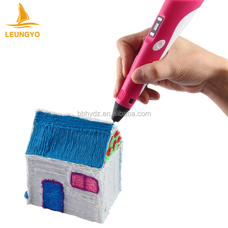 To build 3D objects from the group by LEUNGYO 3D drawing pen