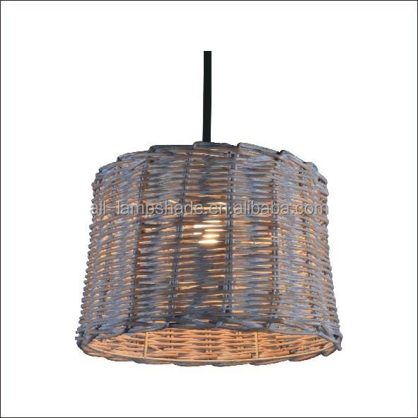 Classic grey rattan woven pendant light shade buy pendantlamp classic grey rattan woven pendant light shade buy pendantlamp shadelighting lampshade product on alibaba aloadofball Choice Image