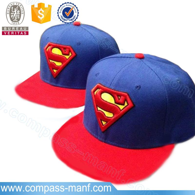 Moda estilo Superman secado rápido ajustable estructurado plana gorras de  béisbol 34b4925cf44