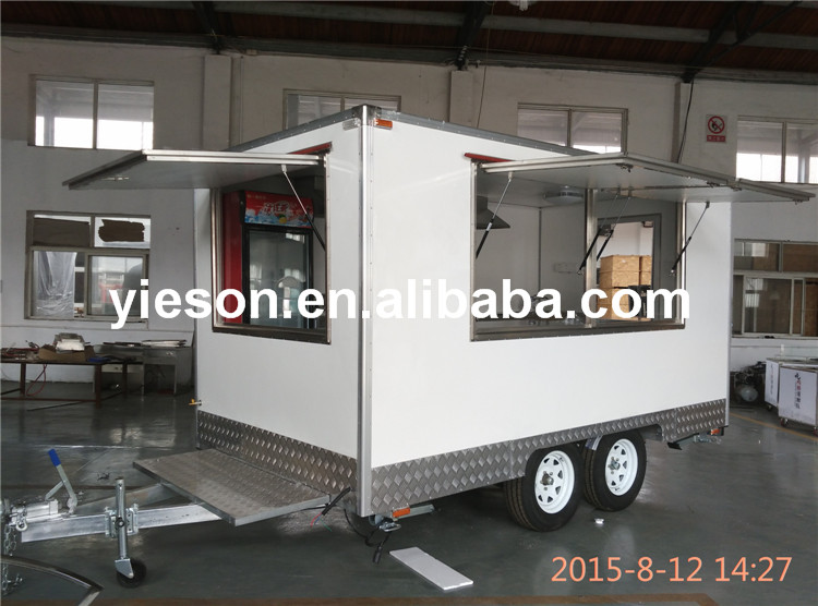 YS-FB390A Yieson Best Selling High Quality sweet corn cart/mobile catering trucks