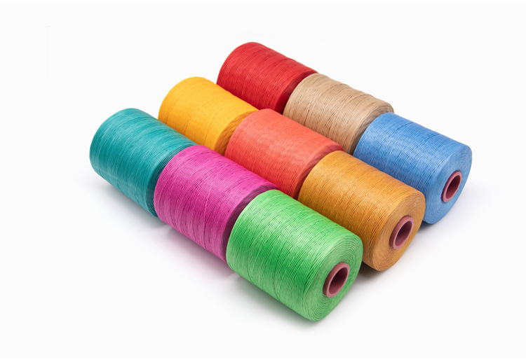 High Quality 1mm 210D /16 Waxed Braided Polyester Hand Sewing Thread