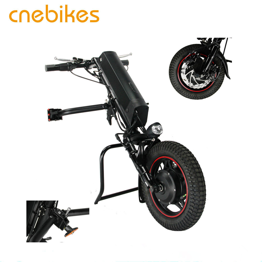 36V 350W electric attachable electric wheelchair handcycle with 36v 11.6ah battery