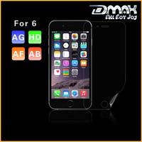 Japanese material ultra clear anti scratch PET film screen protector for iphone 6 / iphone 6 plus