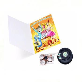 Animated Birthday Wishes Custom Musical Audio Card Shenzhen Supply