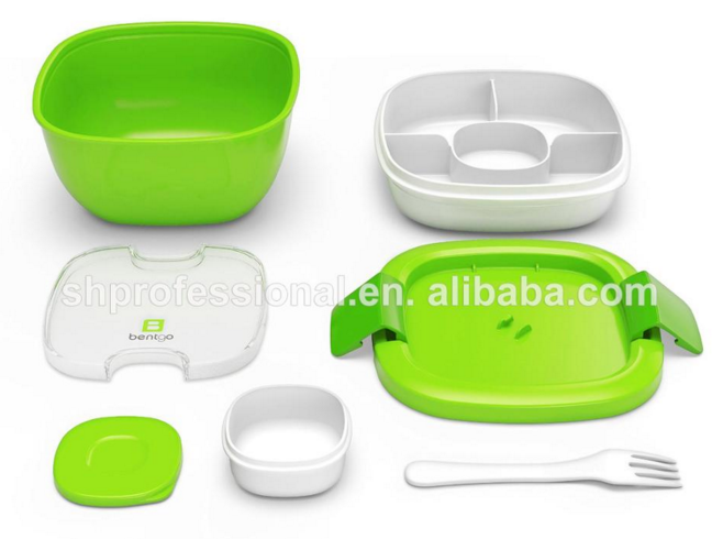 recyclable unique eco friendly 4 compartment pp bento lunch box containers buy bento lunch box. Black Bedroom Furniture Sets. Home Design Ideas