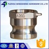 High Quality Durable Using Various Brass Cam Lock Coupling Dust Cap