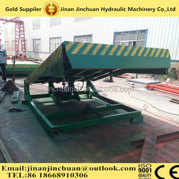China Adjustable Hydraulic Container Ramps For Forklift/ Loading ...