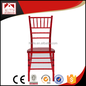 Modern Transparent Chiavari Plastic Chairs for Events